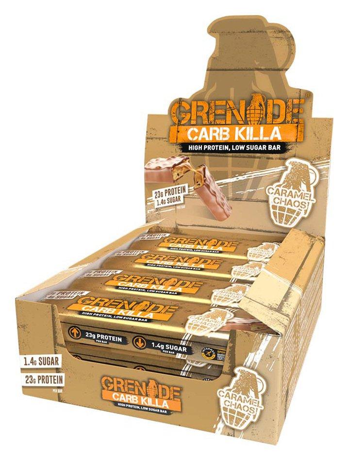 Grenade Carb Killa Protein Bars Caramel Chaos