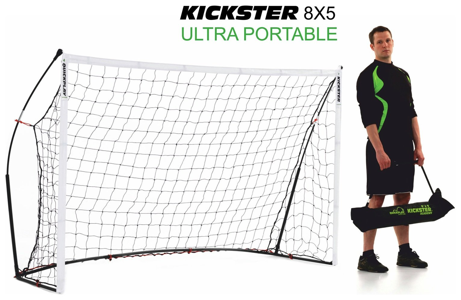 Kickster Academy 8 x 5ft Football Goal