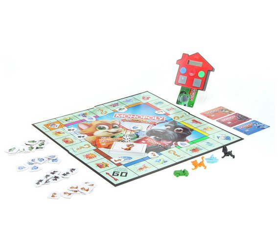 Buy Monopoly Junior Electronic Banking From Hasbro Gaming Board