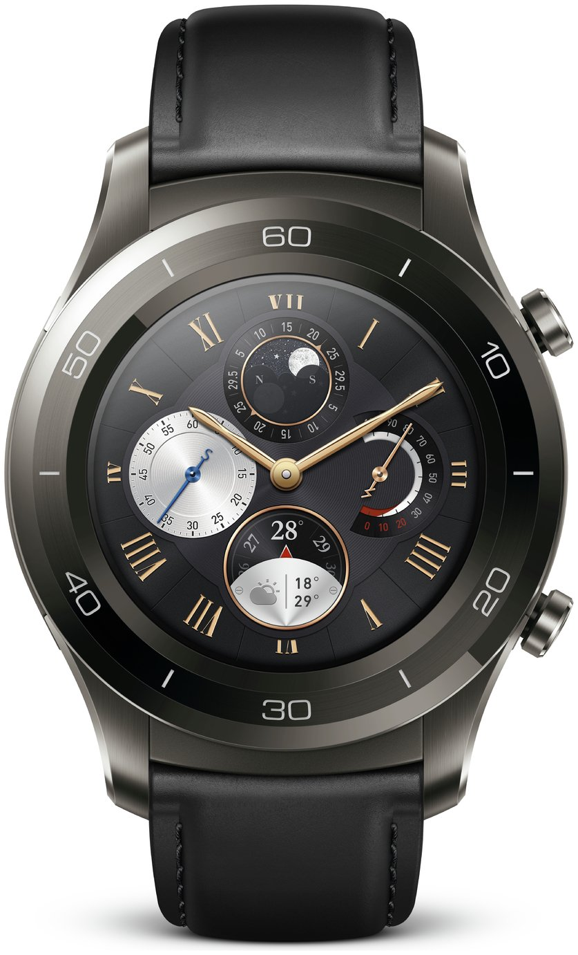 Image of Huawei Watch 2 Classic Smart Watch - Titanium Grey