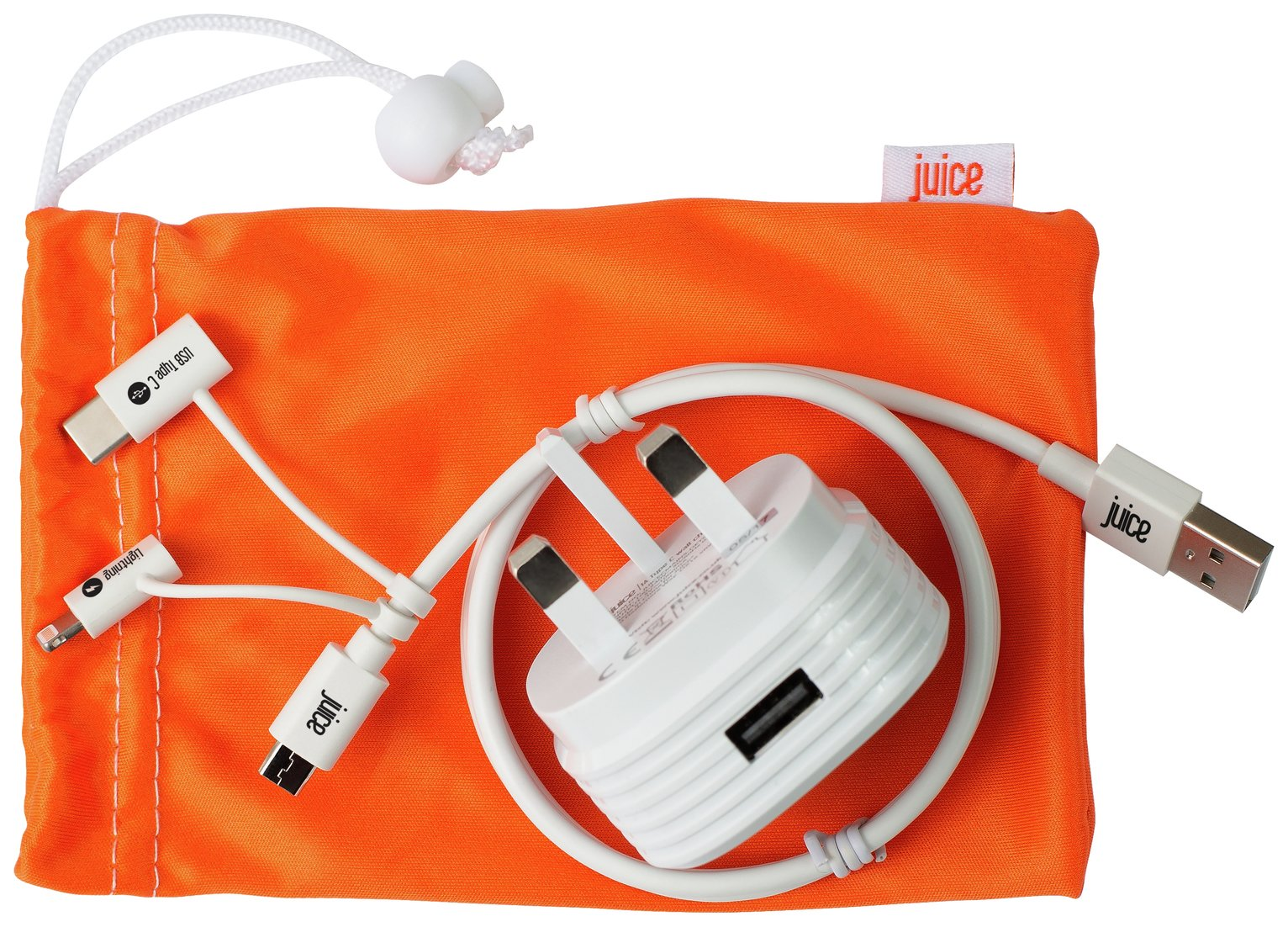 Juice Multi Wall Charger with Micro USB Cable