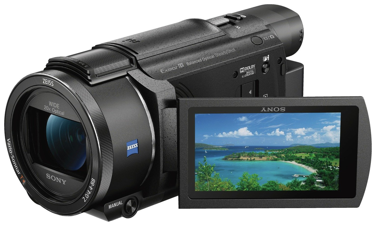 Sony SX53 4K Camcorder - Black
