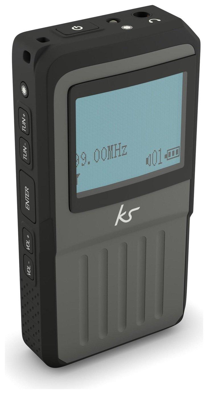 Kitsound KSPDABBK Pocket DAB Radio