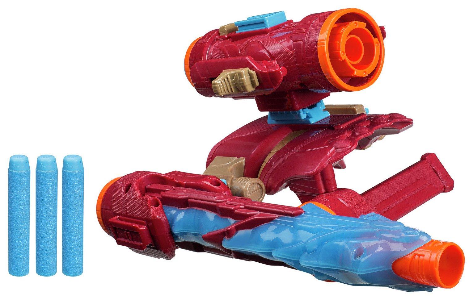 Marvel Avengers Infinity War Nerf Iron Man Assembler Gear