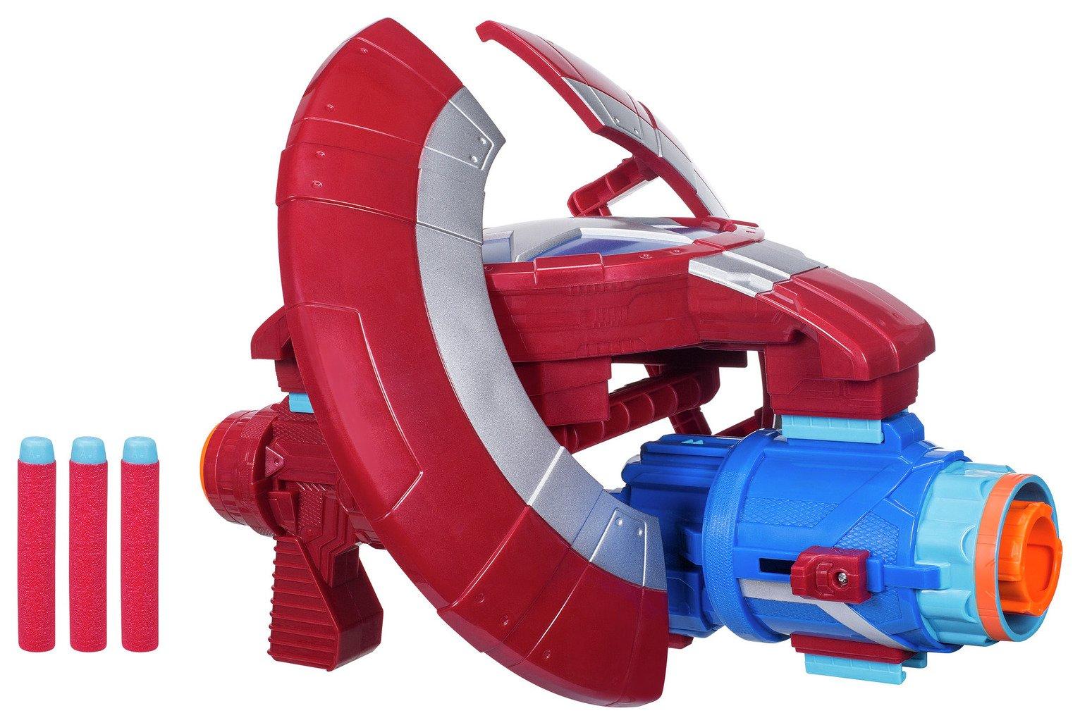 Marvel Avengers Infinity War Nerf Captain America Assembler