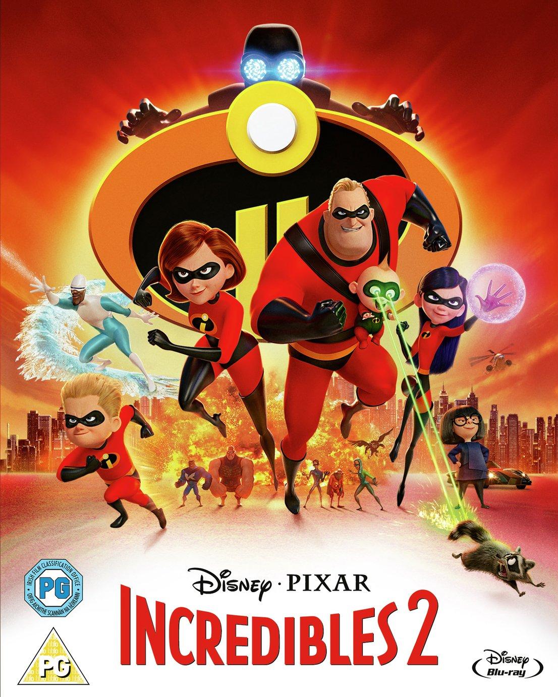 Incredibles 2 Blu-Ray