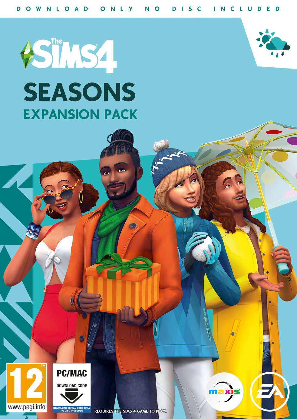Sims 4 Season Expansion Pack PC Game
