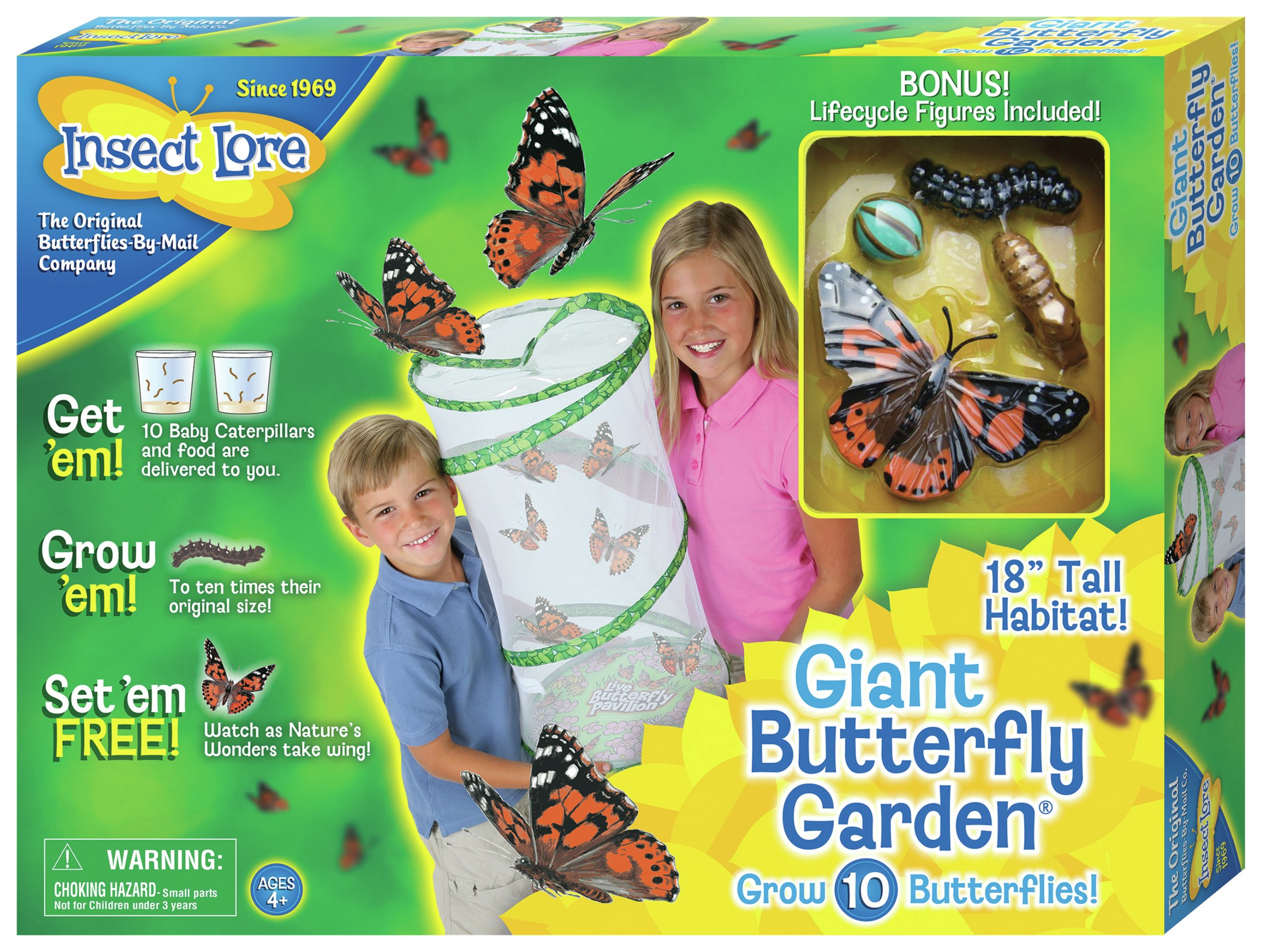 insect lore giant live butterfly garden - Live Butterfly Garden