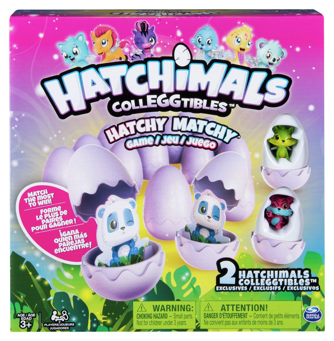 Hatchimals Hatchy Matchy Game Colleggtibles