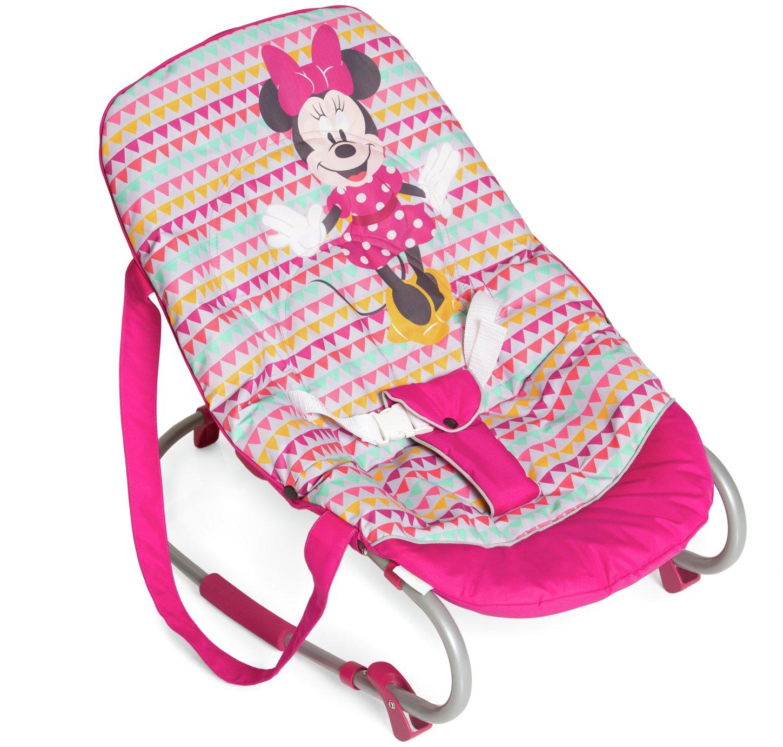 Image of Disney Rocky Bouncer - Minnie Pink