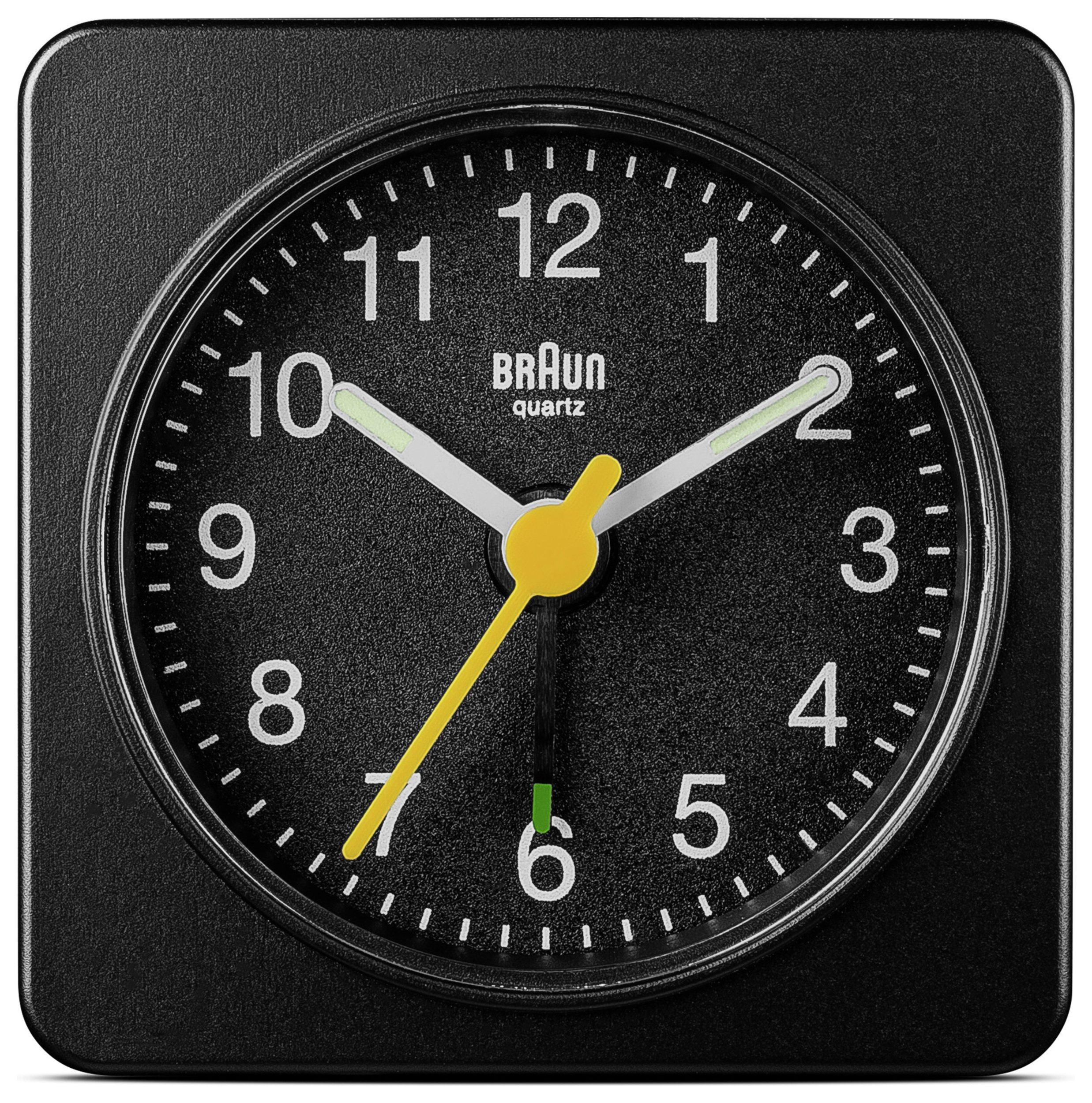 Image of Braun Analogue Travel Alarm Clock - Black