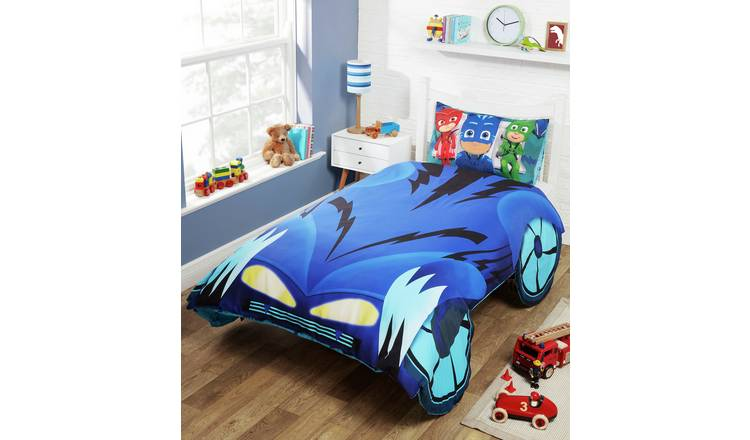 Buy Pj Masks Catboy Car Duvet Set Single Kids Duvet Sets Argos