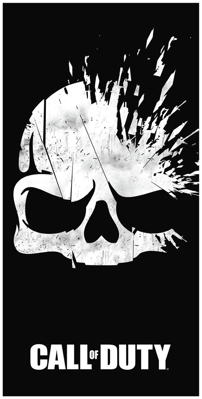 Image of Call of Duty Skull Towel