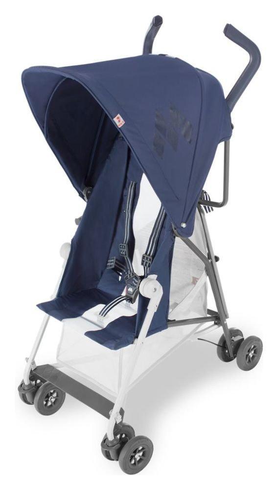 Image of Maclaren Mark II Midnight Stroller with Recine - Navy