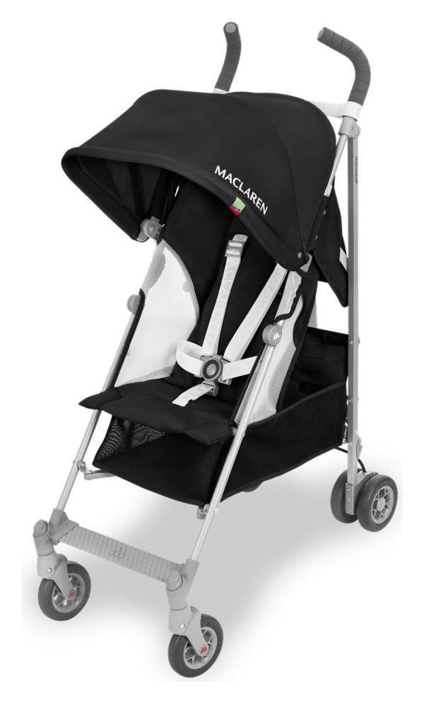 Maclaren Globetrotter Stroller - Black & White