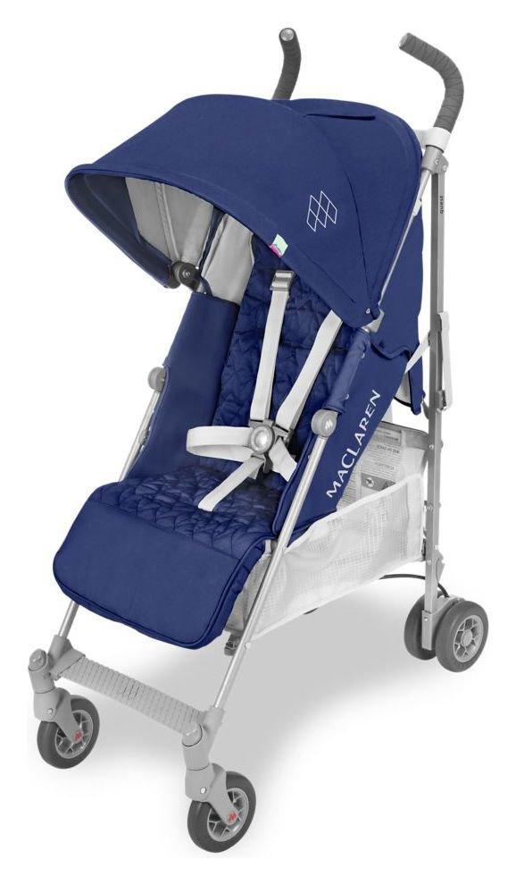 Maclaren Quest Pushchair - Medieval Blue & Silver