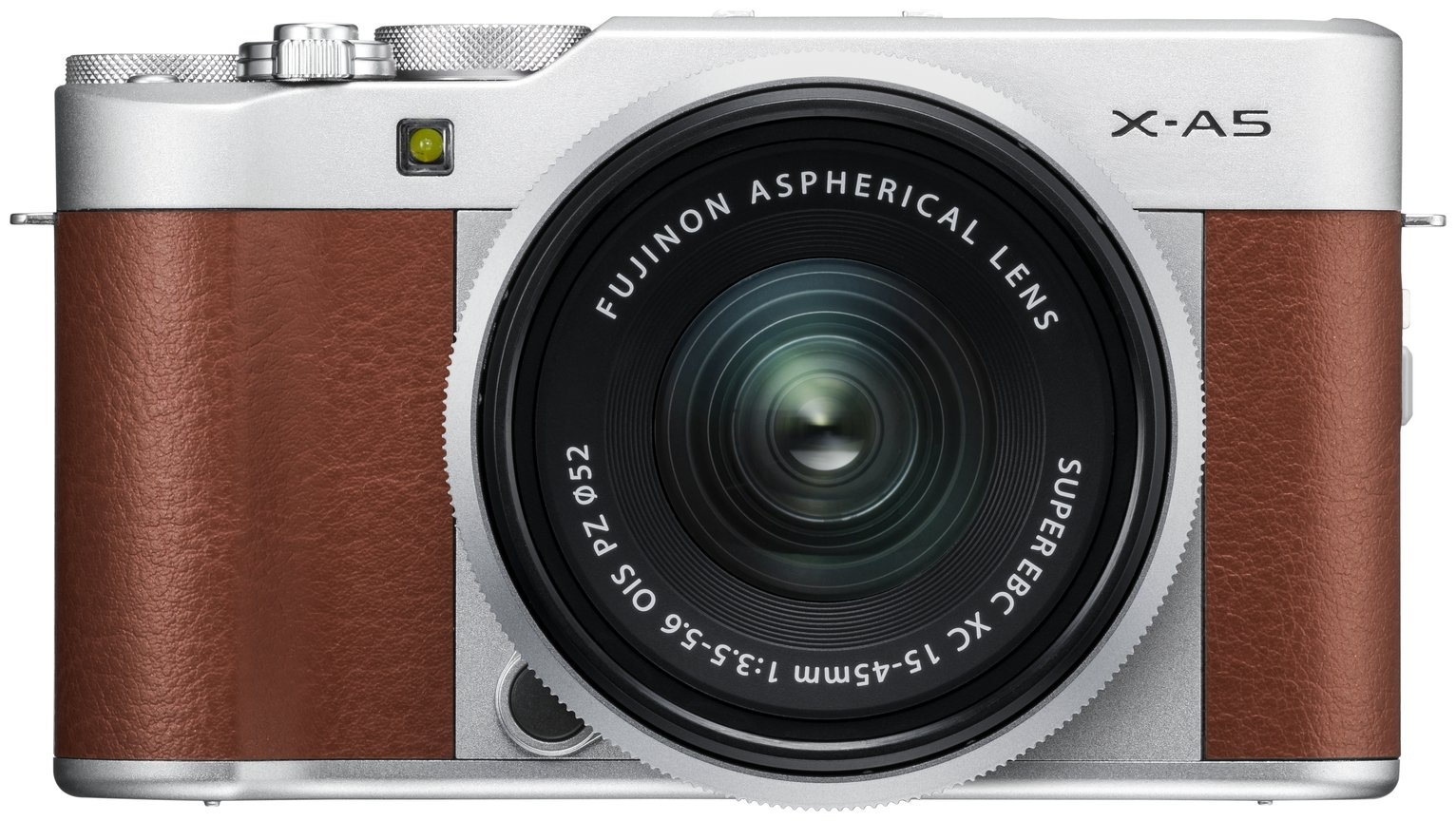 Image of Fujifilm X-A5 XC 24.2MP 15-45mm Compact System Camera- Brown