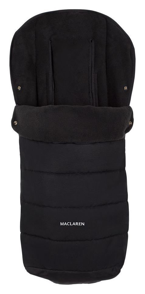 Image of Maclaren Universal Footmuff - Black