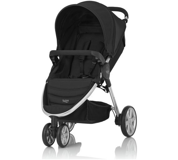 Image of Britax Romer B-AGILE 3 Pushchair - Cosmos Black