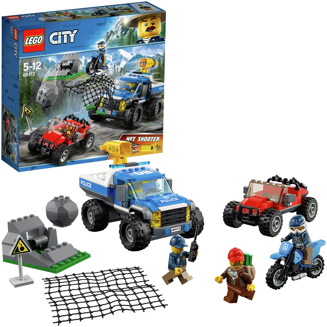 LEGO City Police Dirt Road Pursuit Toy Car - 60172