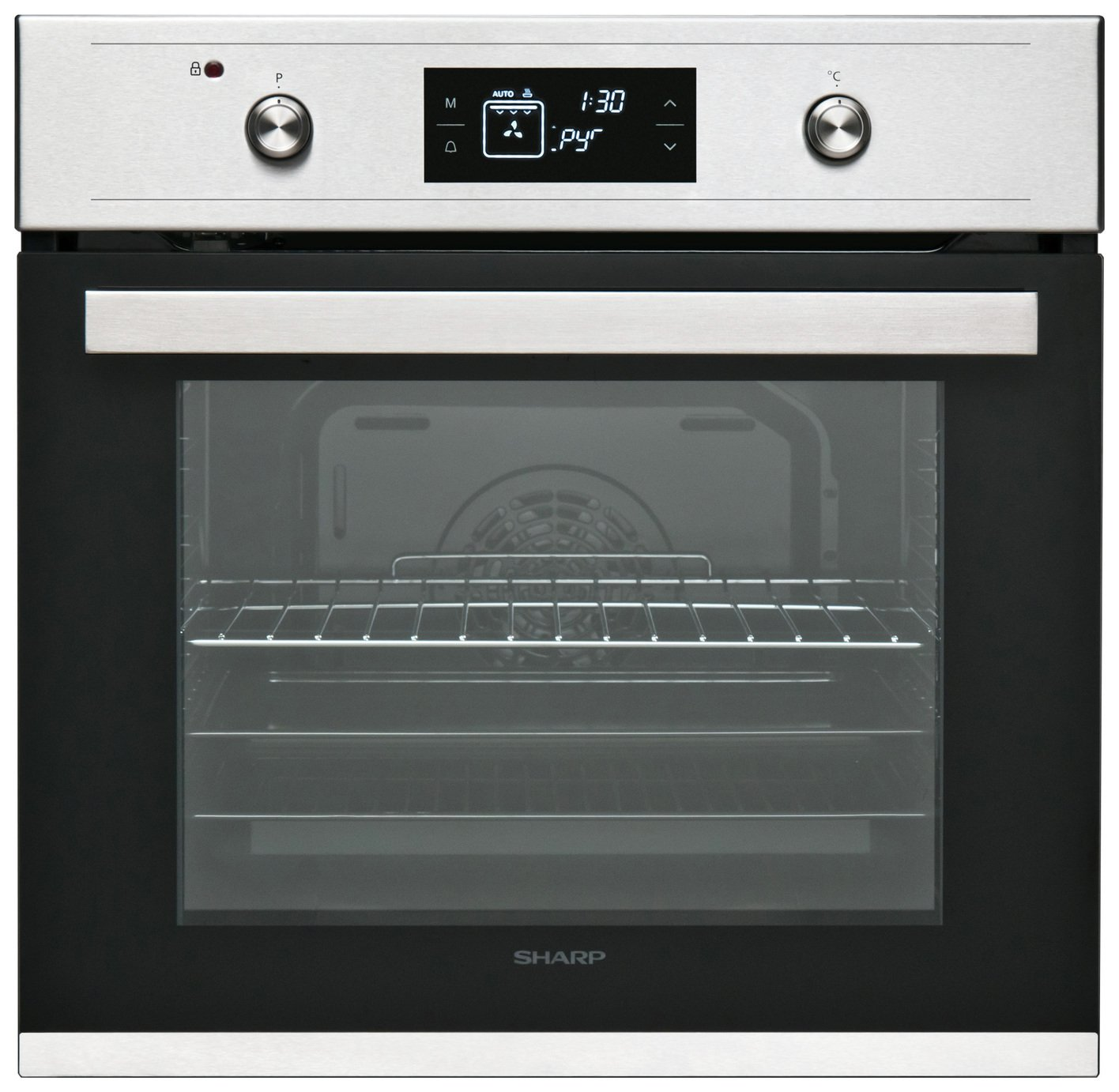 Sharp K-61V28BMI Integrated Electric Oven - Anthracite