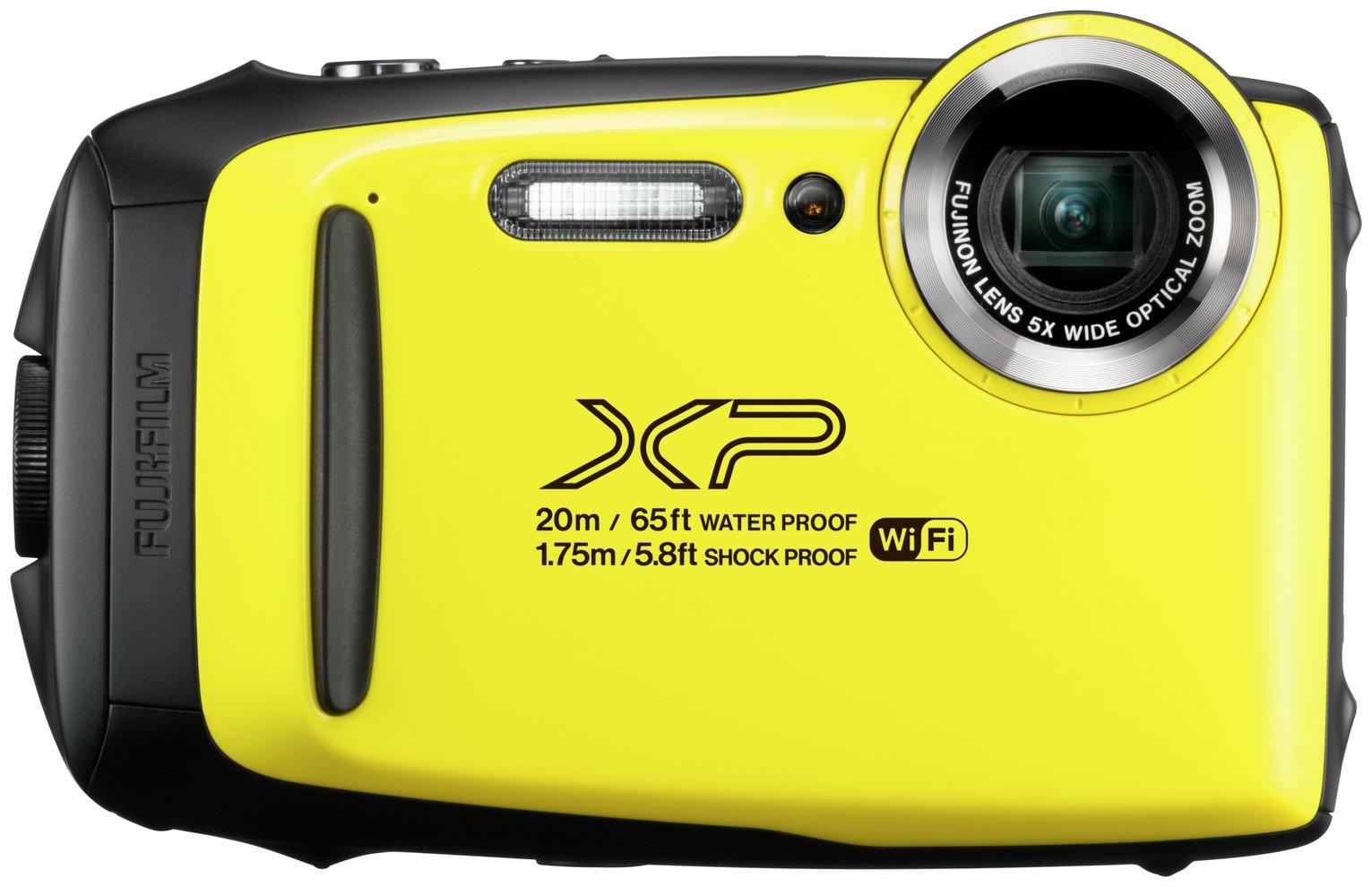 FujiFilm XP130 Tough Camera 5X 16.4MP - Yellow