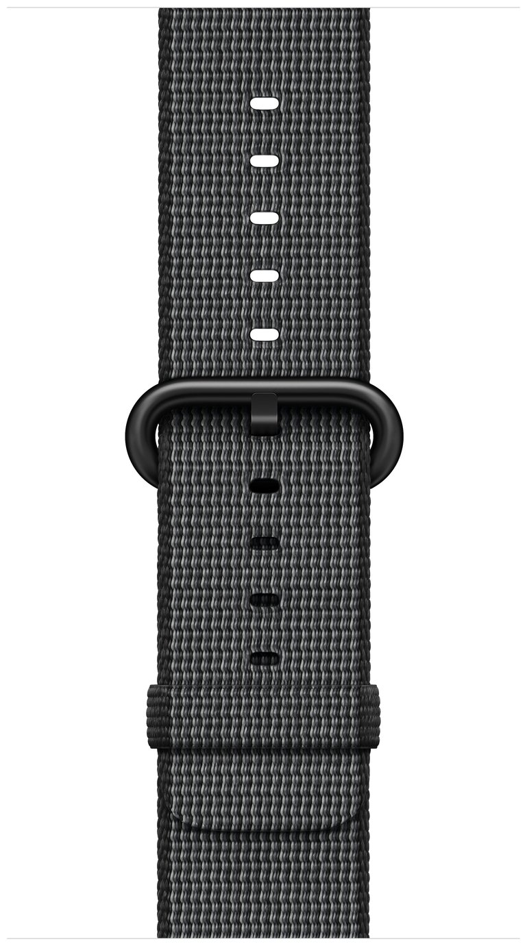 Apple Watch 38mm Black Woven Nylon Band cheapest retail price