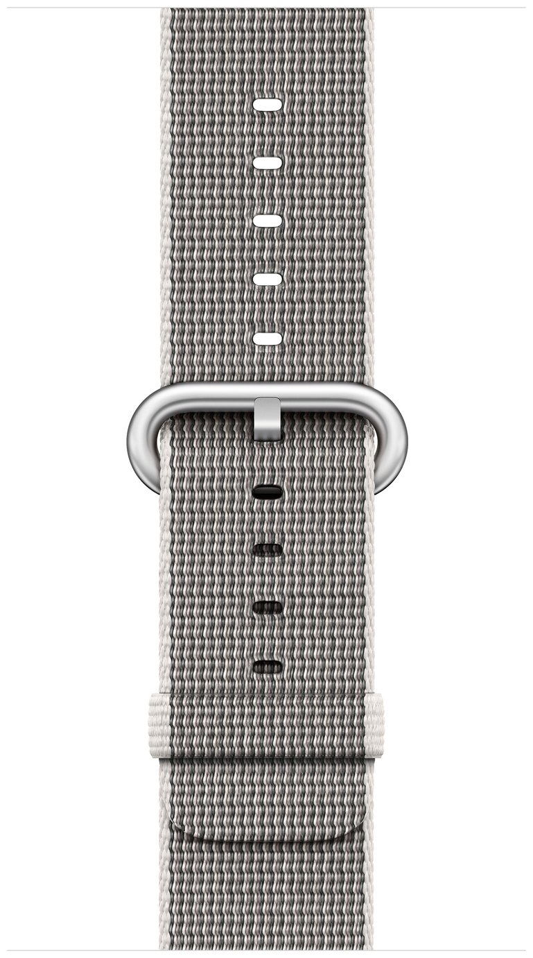 Apple Watch 38mm Pearl Woven Nylon Band cheapest retail price