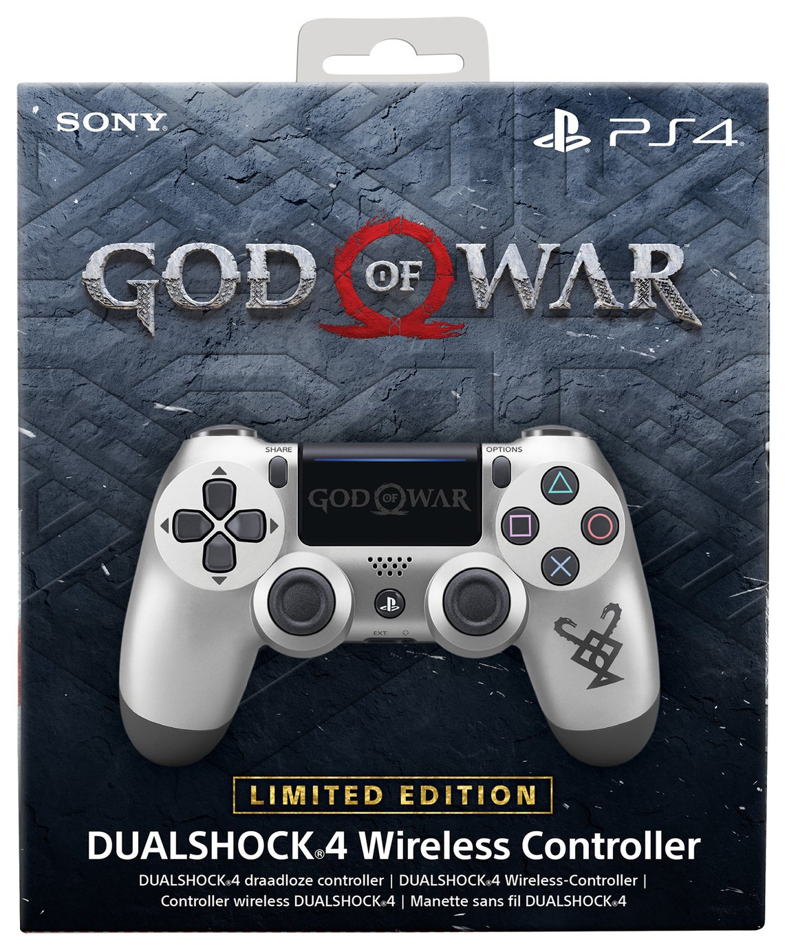 Image of Limited Ed God of War PS4 Dualshock 4 Wireless Controller