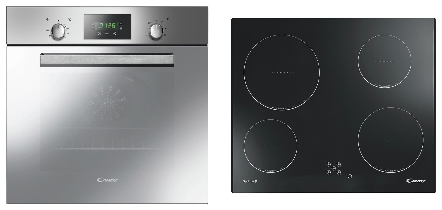 Image of Candy ACOM609XM/CH64C Multifunction Oven with Ceramic Hob