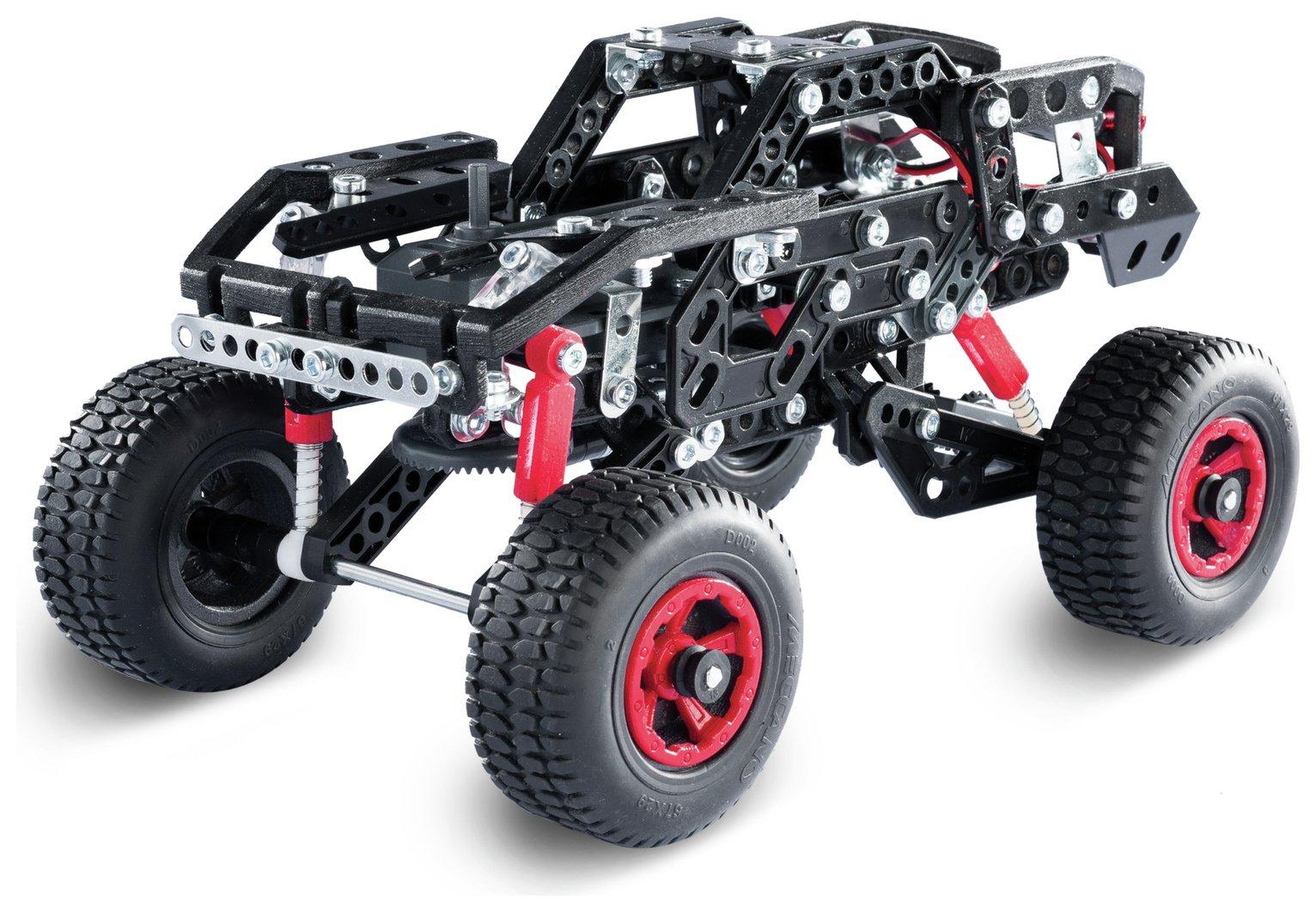 Meccano 25 Piece Jeep Model Set