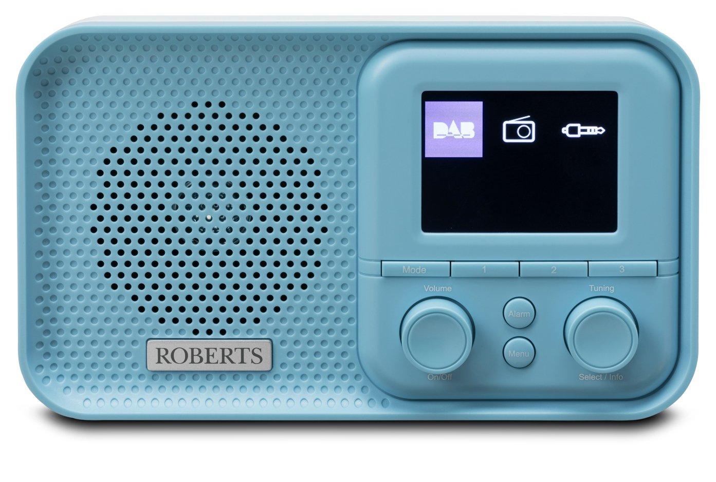 Roberts Play M5 DAB Radio - Blue