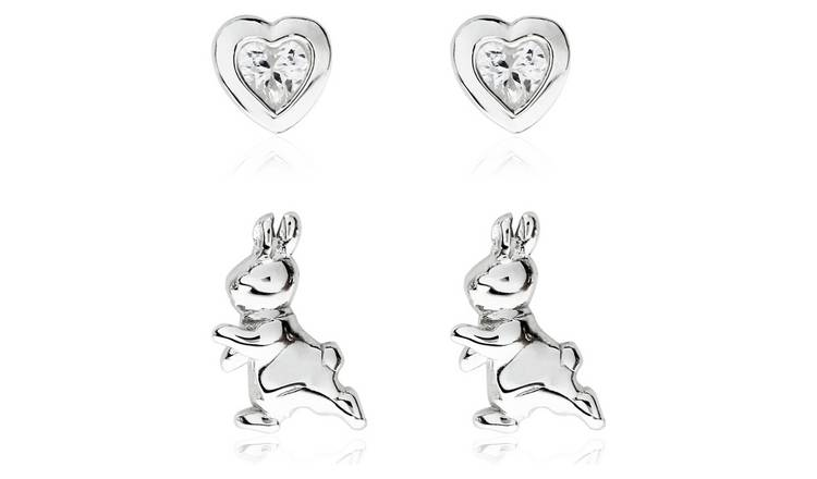Beatrix Potter Peter Rabbit SS - Set of 2 Stud Earrings