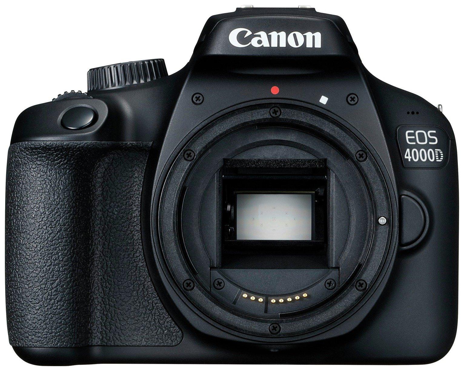 Image of Canon EOS 4000D DSLR Camera Body