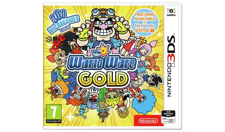 WarioWare Gold Nintendo 3DS Game
