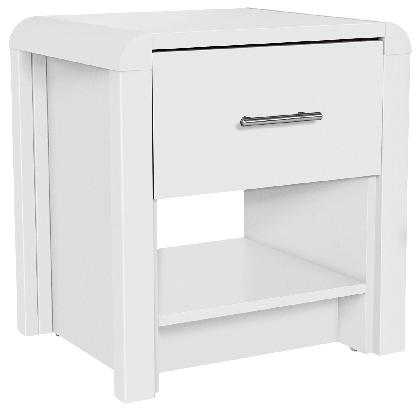 Image of Heart of House Elford Lamp Table - White