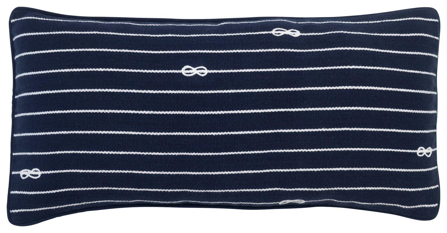 Sainsbury's Home Knot Stripe Cushion