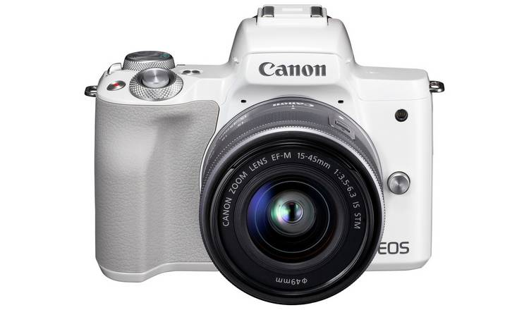 Canon EOS M50 Mirrorless Camera Body with 15-45mm Lens