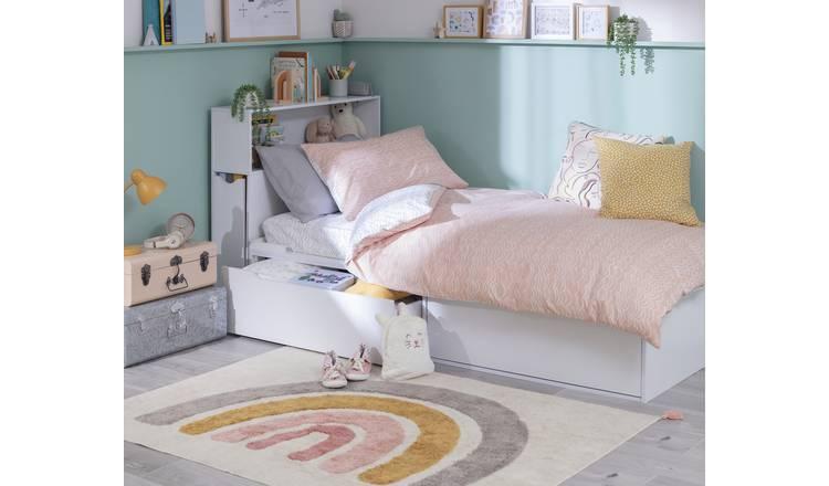 Buy Argos Home Lloyd Cabin Bed Frame & Storage Headboard ...
