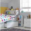 Buy Argos Home Lloyd White Cabin Bed Frame & Storage ...