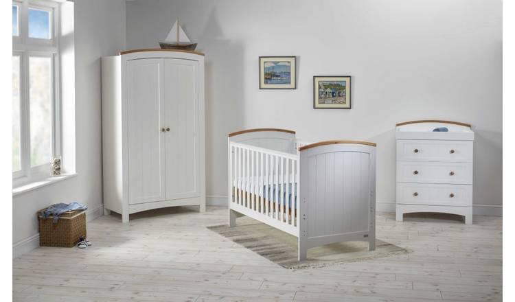 Buy Coast Cot Bed Dresser Wardrobe Nursery Furniture Set
