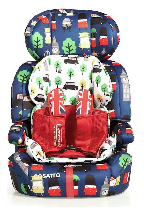 Cosatto Zoomi Groups 1-2-3 Car Seat - Britpop