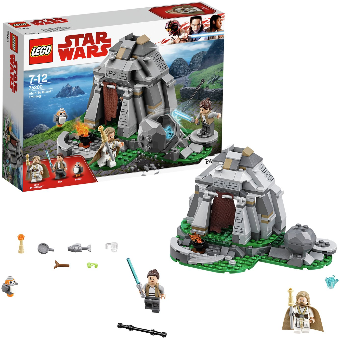 LEGO Star Wars AhchTo Island Training Building Set - 75200