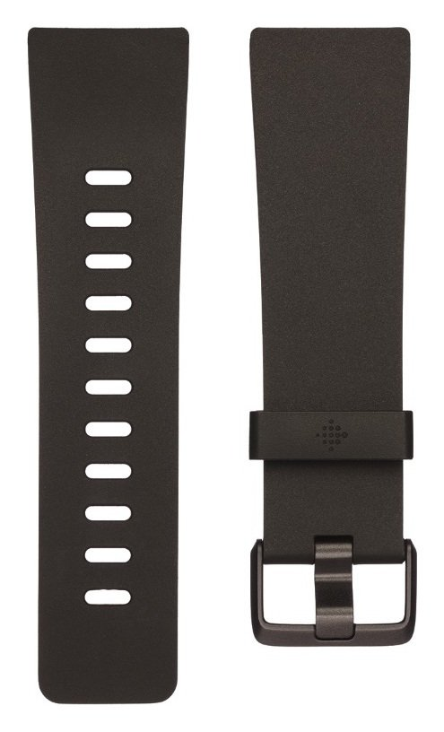 Fitbit Versa Large Accessory Band - Black