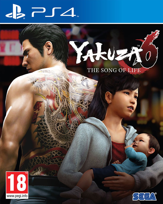Yakuza 6: The Song of Life PS4 Game