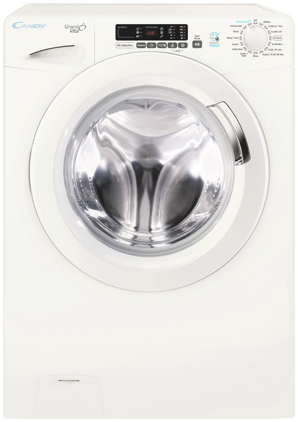 Candy GVS149D3 9KG 1400 Spin Washing Machine - White