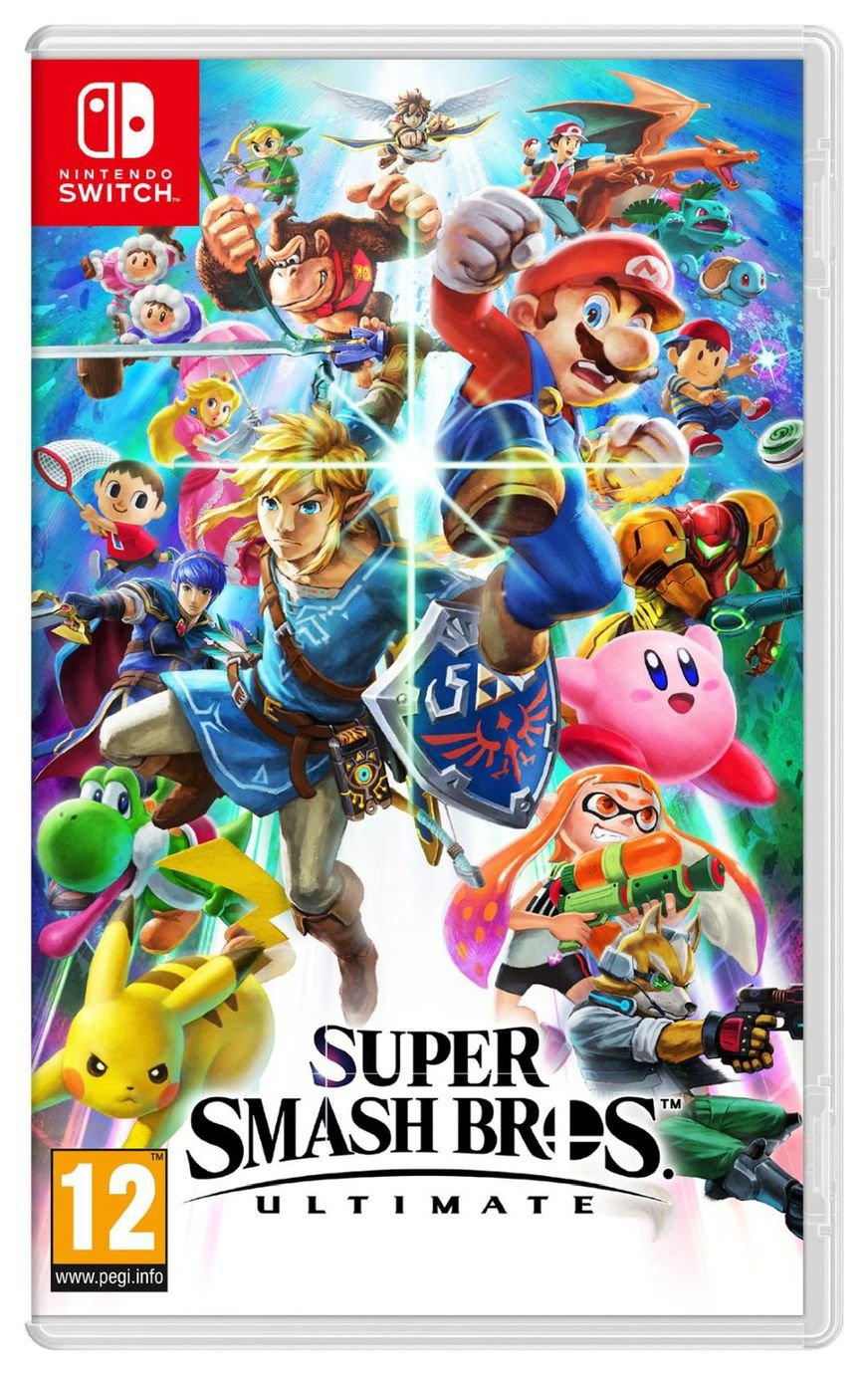 Super Smash Bros Ultimate Nintendo Switch Pre-Order Game