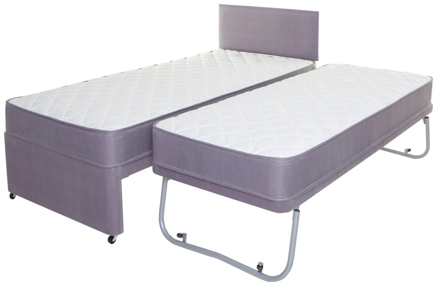 Image of Airsprung Newington Folding Guest Bed & Mattress - Single