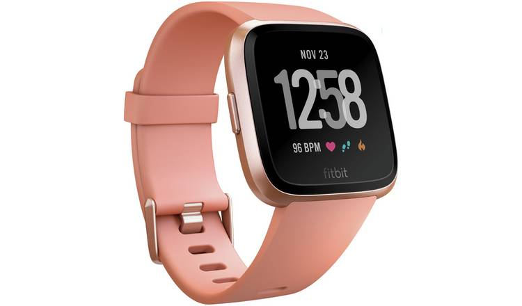 Fitbit Versa Smart Watch - Rose Gold