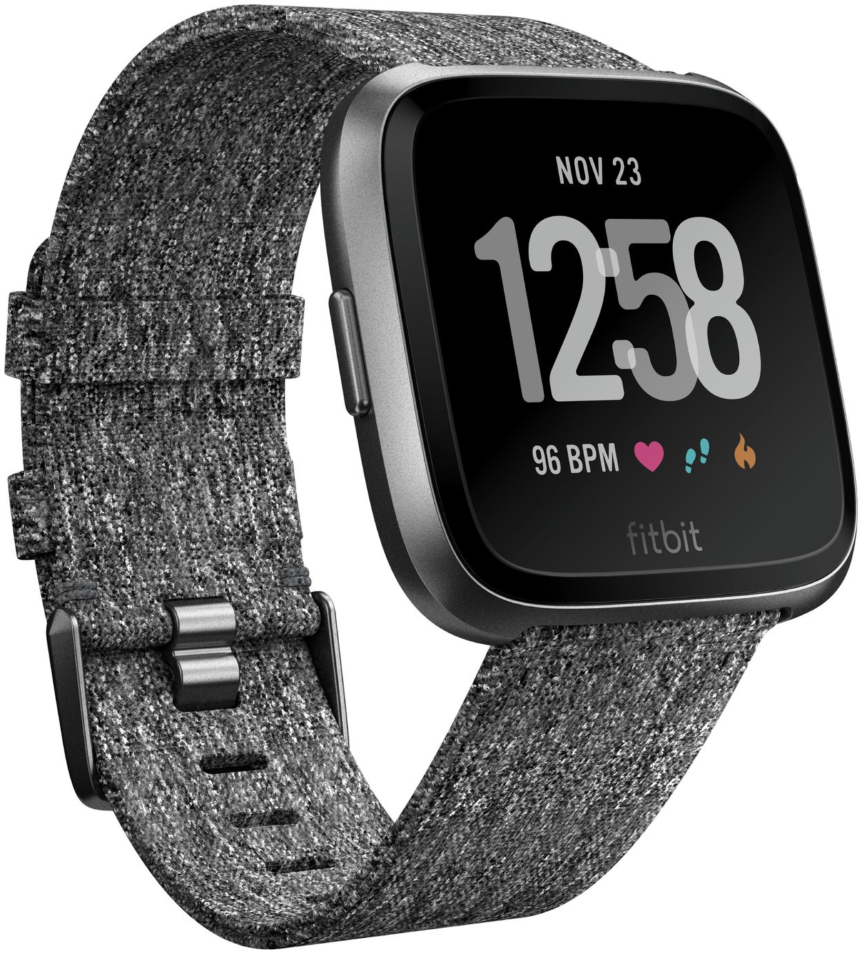 Fitbit Versa Special Edition Smart Watch - Charcoal